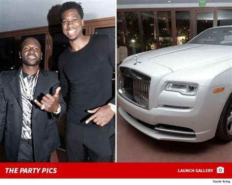 Antonio Brown's Crazy Expensive Bday Party w/ $350k Rolls ...