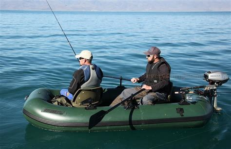 Fishing Boat And Motor Packages by Sea Eagle Sts10 Stealth Stalker Inflatable Fishing Boat