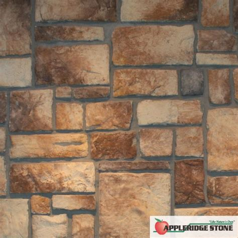 what color is cobblestone appleridge veneer our buff color is mainly