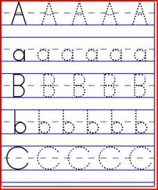 Free Printable Kindergarten Worksheets ABC