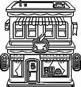 Coloring Restaurant Cartoon Building Printable Kolorowanki Dzieci Dla Restauracje Sheets Rocks Restaurants Olphreunion Potter Harry Santa sketch template