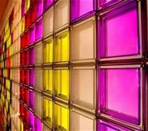 China Colored Glass Brick/ Decorative Glass Block for ...