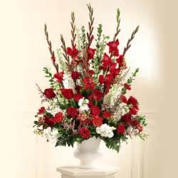wedding centerpieces cheap traditional altar arrangement at send flowers