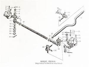 Drag Link  U0026 Tie Rod  4 Wd