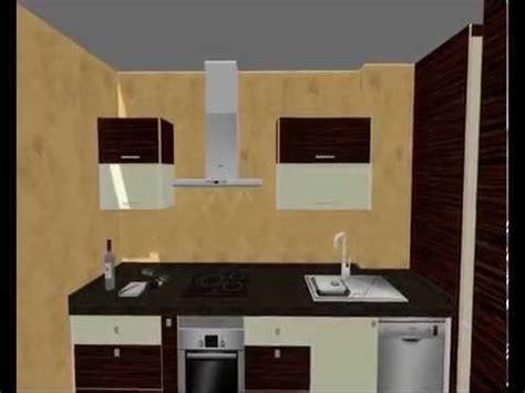 cocina alto brillo  lavadero integrado serie luxe