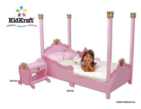 Kidkraft Princess Toddler Bed 76121 by Kidkraft Princess Toddler Bed