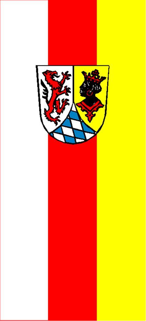 landkreisflaggen deutschlands teil  bayern heutige
