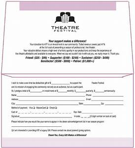 theatre festival donation envelope inside remittance With fundraising envelope template