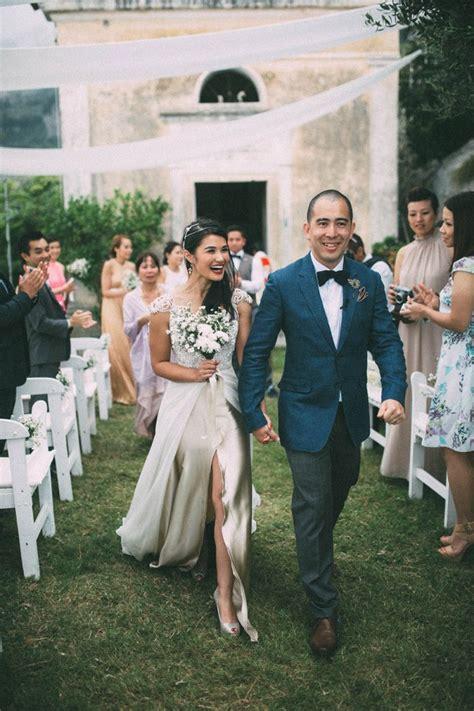 Glamorous Outdoor Italian Wedding Junebug Weddings