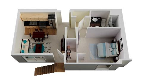 small 1 bedroom house plans 1 bedroom small house plan interior design ideas