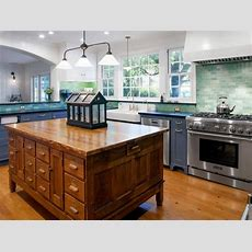 Giving A Brandnew Kitchen Timeless Character And Rich