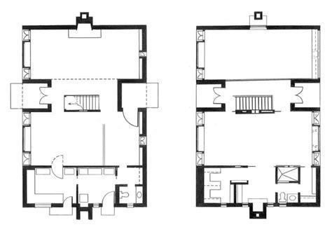 Esherick House Plan Dimension