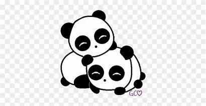 Panda Drawing Chibi Transparent Drawn Drawings Clipart