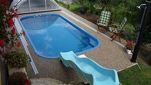 Stavba laminátového bazénu