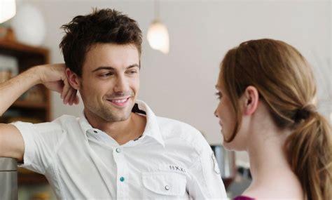 ways men flirt  women dont notice scribolcom