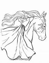 Horse Coloring Pages Detailed Homely Printable Adults Print Getcolorings Colorings sketch template