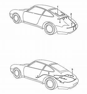 Porsche 911 Wiring Harness Engine  Dme