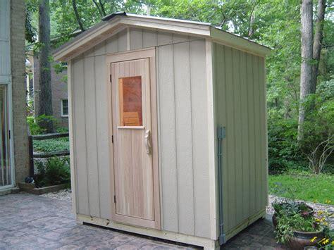 Outdoor Saunas Poolside Patio Sauna