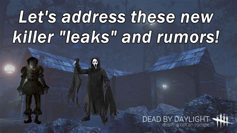 Dead By Daylight| New Killer Leaks And Rumors?!