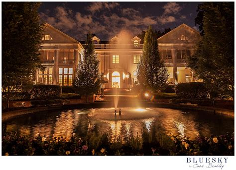 view  duke mansion charlotte nc outdoor wedding