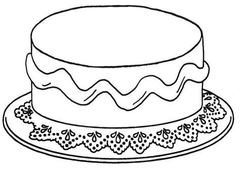 Verjaardagstaart Kleurplaat Printen by Versier Je Eigen Taart School Kleurplaten Verjaardag