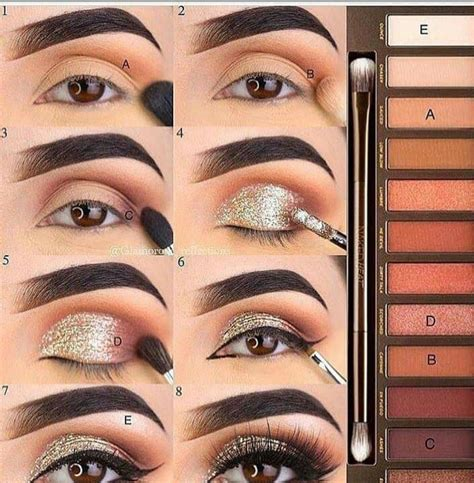 easy eye makeup tutorial  beginners step  step ideaseyebrow eyeshadow latest