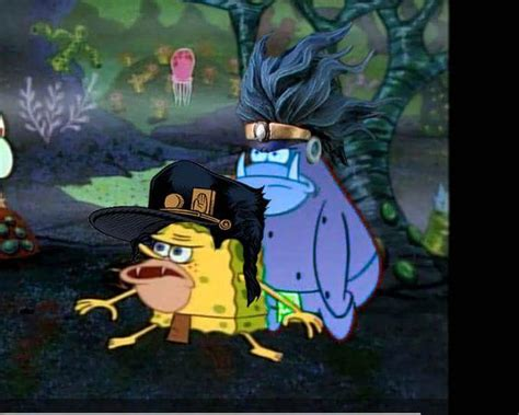 Spongebob Jojo Memes - just another jojo and spongebob meme jojo s bizarre adventure know your meme