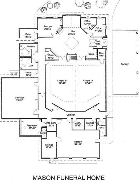 funeral home floor plans funeral home floor plans lovely  fresh funeral home floor