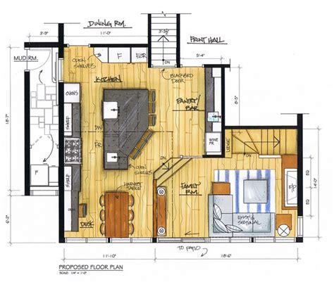 kitchen island floor plans 11 best images about kitchen floor plans on