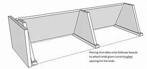 August Cottage Apiary  Building Plans For A Topbar Hive