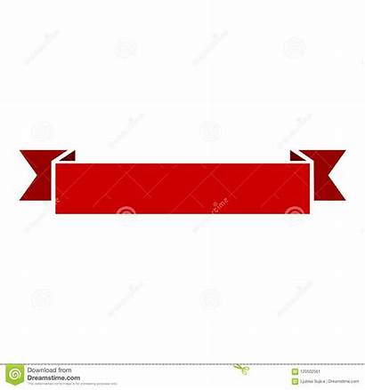 Ribbon Banner Vector Flat Simple Background Illustration