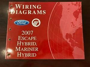 2007 Ford Escape Hybrid  Mariner Hybrid Wiring Diagrams