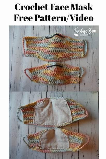 Mask Crochet Face Pattern Masks Adults Easy