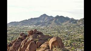 Piestewa Peak In Phoenix  Arizona