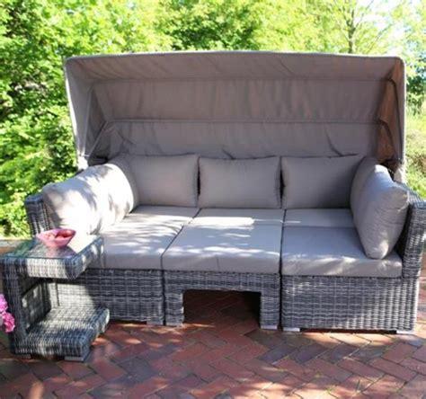 günstige loungemöbel outdoor polyrattan lounge m 246 bel bahama rattan loom korb