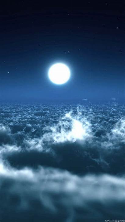 Wallpapers Moon Portrait Sky 1080p Resolution Cool