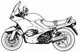 Motorcycle Coloring Yamaha Motorcycles Printable Harley Comfortable Very Raskrasil sketch template