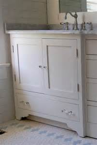 Bathroom Ideas White Tile Appealing Small Cottage Bathroom Vanities With Shaker Style Door Cabinets Using White Laminate