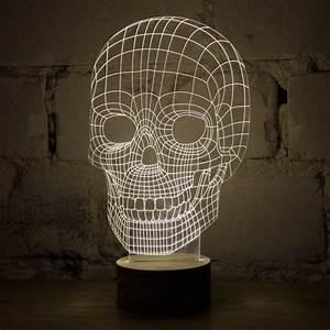 Bilder In 3d Optik : 3d skull lampe totenkopf beleuchtung in 3d optik tradokay ~ Sanjose-hotels-ca.com Haus und Dekorationen