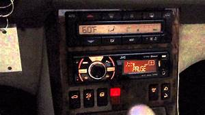 Car Update  Installed Jvc Head Unit Into My 1999 Mercedes