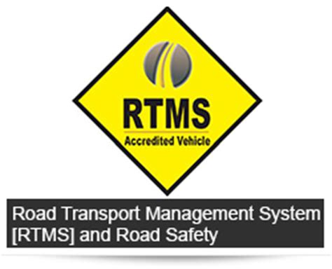 road transport management system rtms road safety