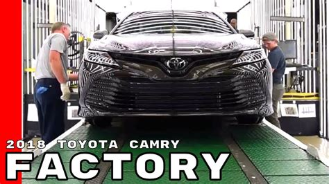 toyota camry assembly factory plant youtube