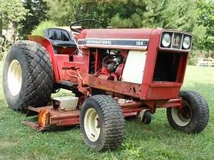 International 184 Ih Low Boy Utility Tractor 3 Point Hitch