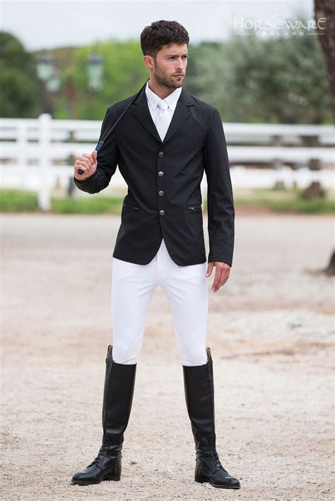 Horseware Competition Collection S/S15 NEW Mens woven competition jacket | Spring/Summer ...