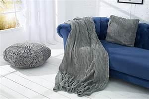 überwurf Für Sitzmöbel : gewebter design pouf leeds oriental grau wei baumwolle sitzhocker riess ~ Yasmunasinghe.com Haus und Dekorationen