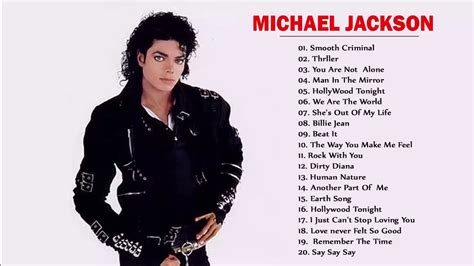 Michael Jackson Best Song by Michael Jackson Greatest Hits Playlist Best Songs Of