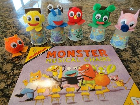 You forget all about the monster once you sit down and enjoy the chair's comfort and softness. Learners in Bloom: Mathstart Monster Musical Chairs Activity