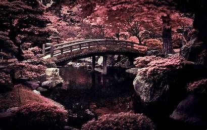 Desktop Japanese Japan Wallpapers Imperial Garden