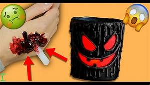 Gruselige Halloween Deko Selber Machen : gruselige halloween deko selber machen halloween bastelidee diy deutsch let 39 s try 4k ~ Yasmunasinghe.com Haus und Dekorationen