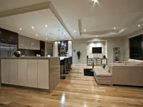 modern kitchen living kitchen design using floorboards kitchen photo 289721 - Living Kitchen Ideas